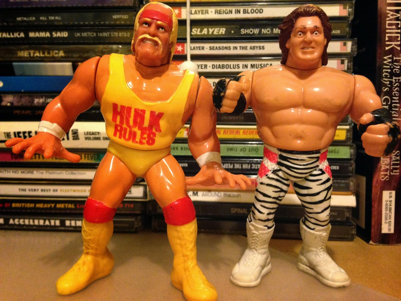 WWF Hasbro Figures - Hulk Hogan and Brutus 'The Barber' Beefcake