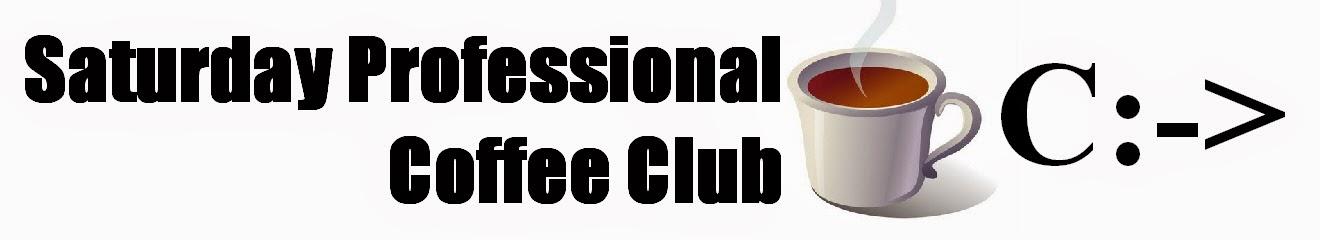 Saturday Professional Coffee Club