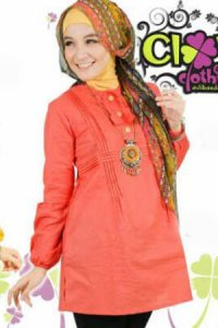 Clover Clothing Blus Syelia - Salem (Toko Jilbab dan Busana Muslimah Terbaru)