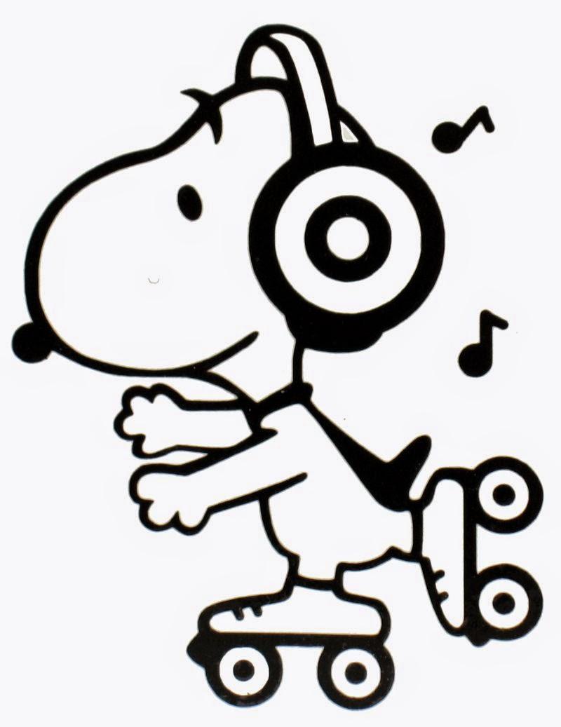 Desenhos do snoopy e turma para colorir pintar imprimir - Snoopy dessin ...