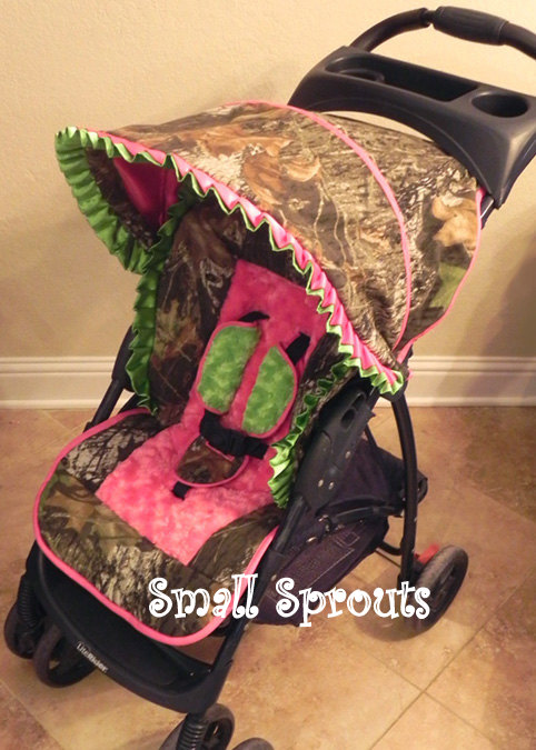 Small Sprouts Liberty Mossy Oak Breakup Camo Baby