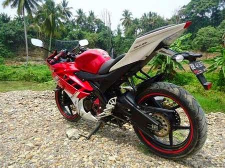 modifikasi New Vixion Lightning menjadi Yamaha R15