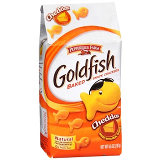 goldfish- perfect toddler snack for on the go!