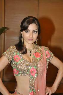 Soha Ali Khan – Hot Unseen Cleavage Show Photos