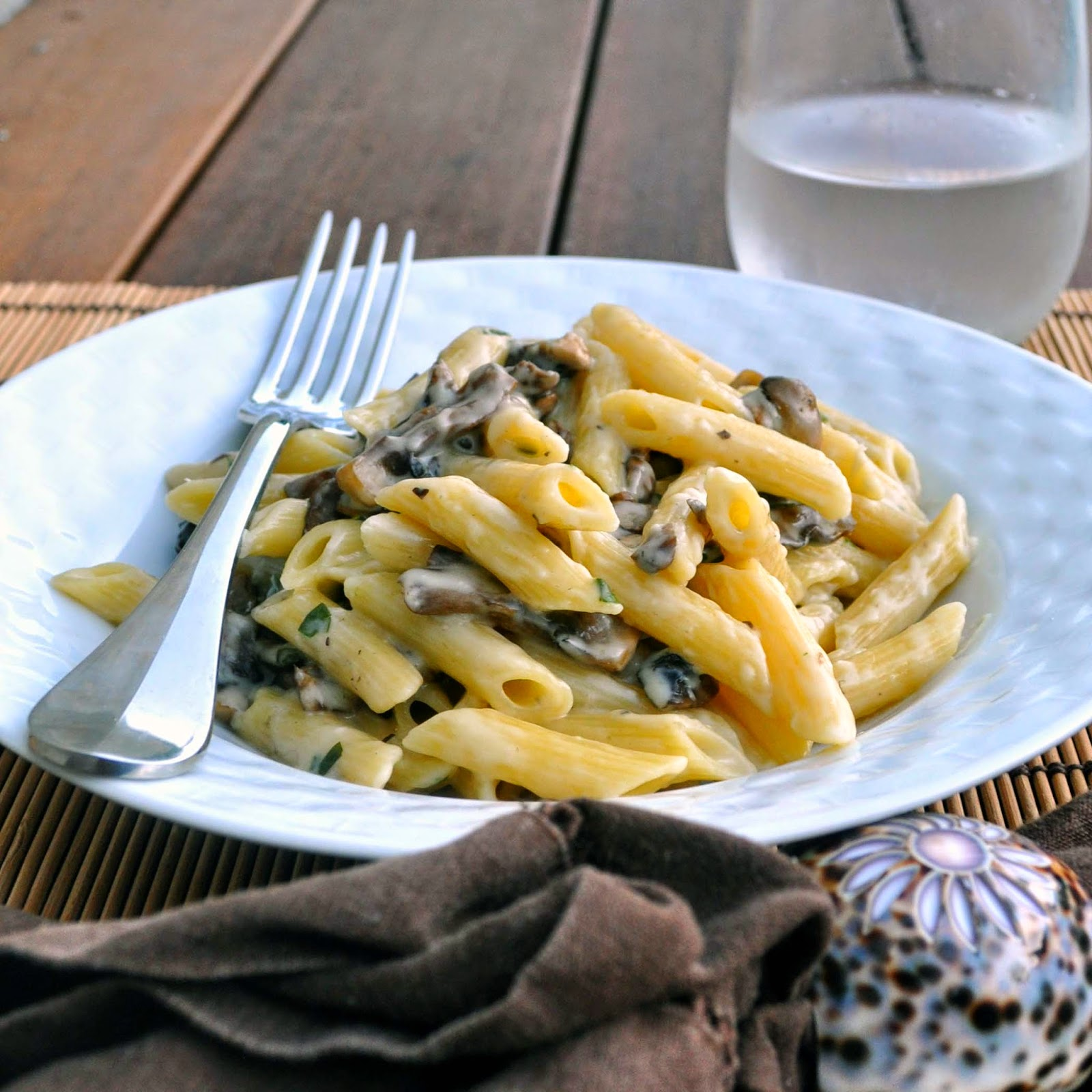 Mushroom Pappardelle With Taleggio Cheese Recipe — Dishmaps