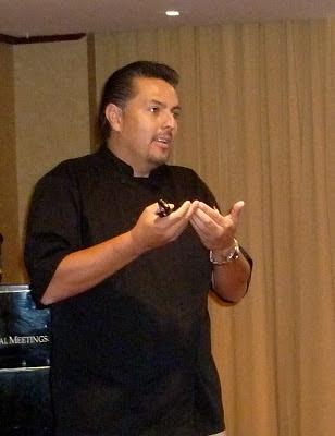 Chef Mauricio Armendáris, Vicepresidente Ejecutivo del Foro