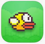 'Flappy Bird' Screen Capture Picture for Educational Purposes (Archival Copy)