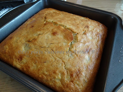 Gâteau aux bananes et glaçage au fromage