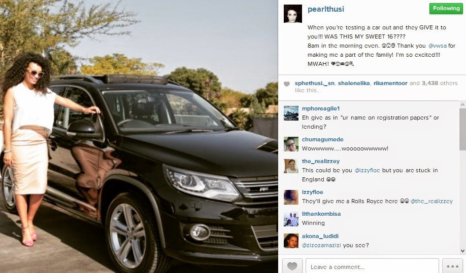 Dj S Production Car Manufacturing Brand Gifts Pearl Thusi