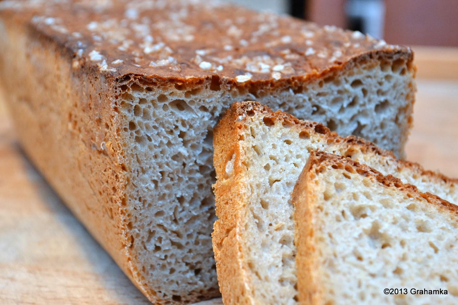 Chleb żytni, łatwy i szybki, z perspektywy.