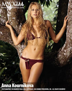 Sexy Tennis Player Anna Kournikova