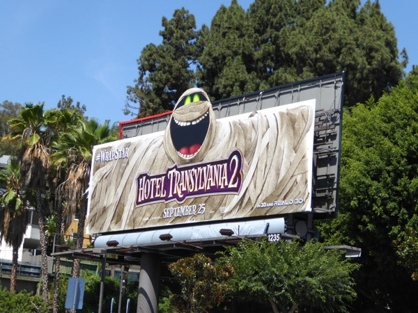 Hotel Transylvania 2 movie billboard