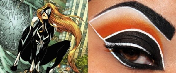 Eye Make Up Spider Woman