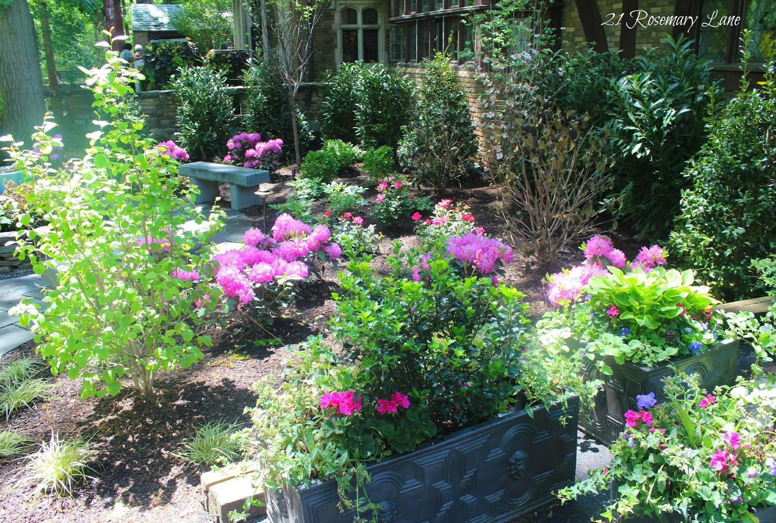 21 Rosemary Lane: Mansion Garden Tour ~ Glynallyn Castle