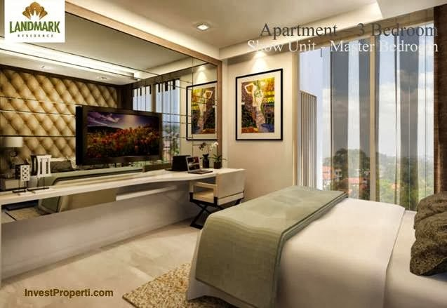 Master Bedroom Interior Design Apartment 3 Bedrooms Landmark Residence