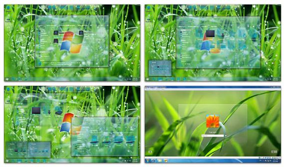 Glass Skin Pack Windows 7