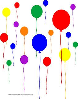 Dibujos de globos