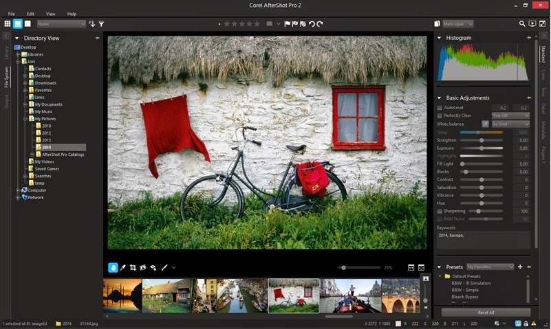 Corel AfterShot Pro 2.0.3.25 Full Patch