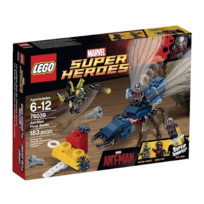 "Marvel's Ant-Man Movie ""Final Battle"" LEGO Set"