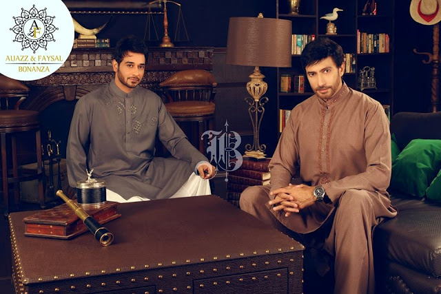 Aijaz and Faysal Kurta Collection For Eid By Bonanza