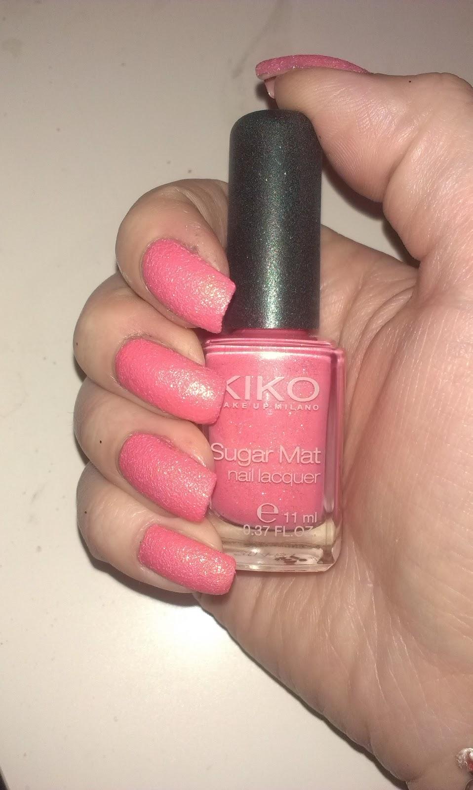 Elle Fabulouse: Nuevo en: Kiko Make up Milano, Sugar Matt Nail Lacquer