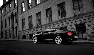Bentley Black HD Wallpaper