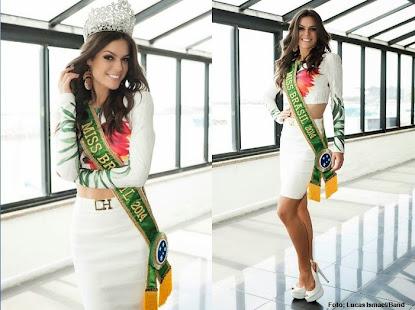 Altura não foi problema para Melissa Gurgel, 1,68m e o título de Miss Brasil 2014