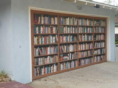 Garage Door Library & Mystery Fanfare: Garage Door Library