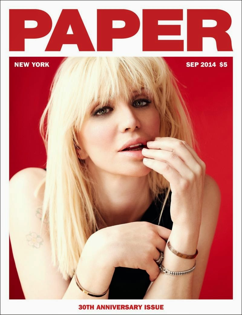 Courtney Love - Paper Magazine, September 2014