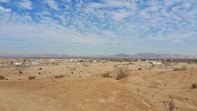 Salvation Mountain near Niland CA
