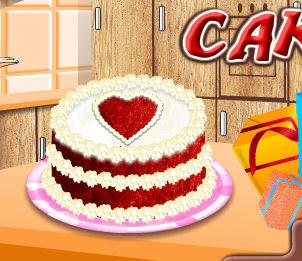 Juego de hacer una tarta para San Valentin