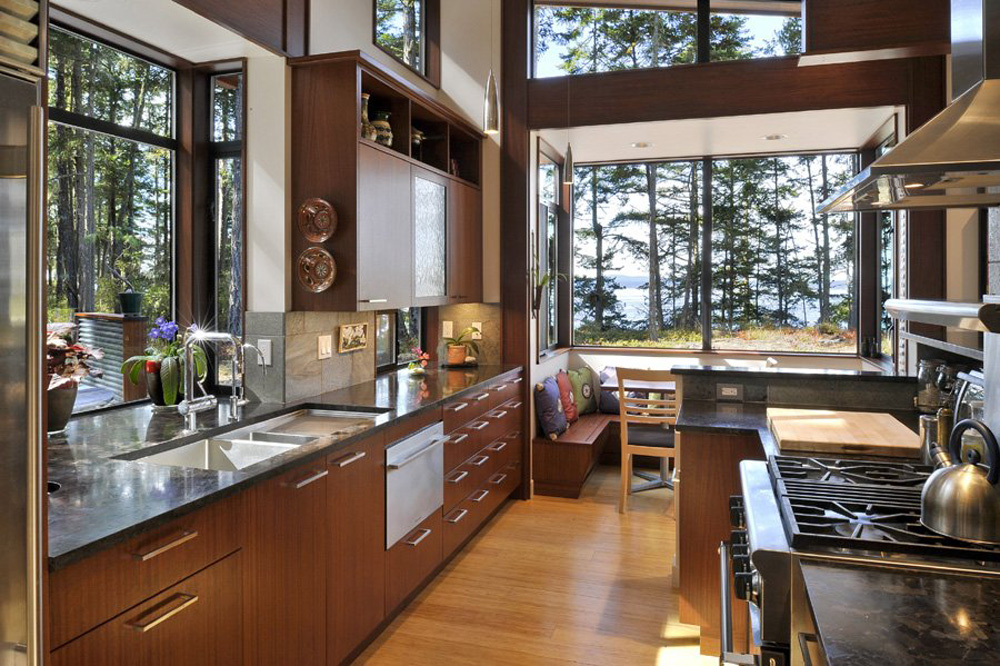 Cawah homes modern dream house design in the natural for Dream kitchen designs