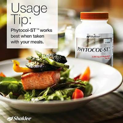 Fitosteol membantu menghalang enyerapan kolestrol dalam salur darah