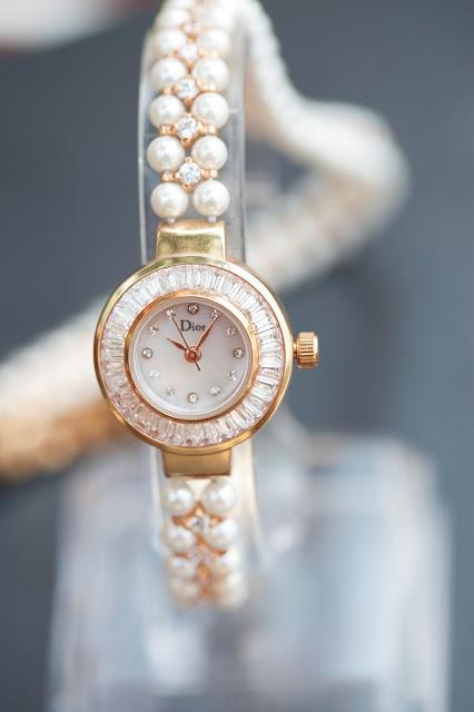Đồng hồ nữ đính đá Dior đẹp 2015