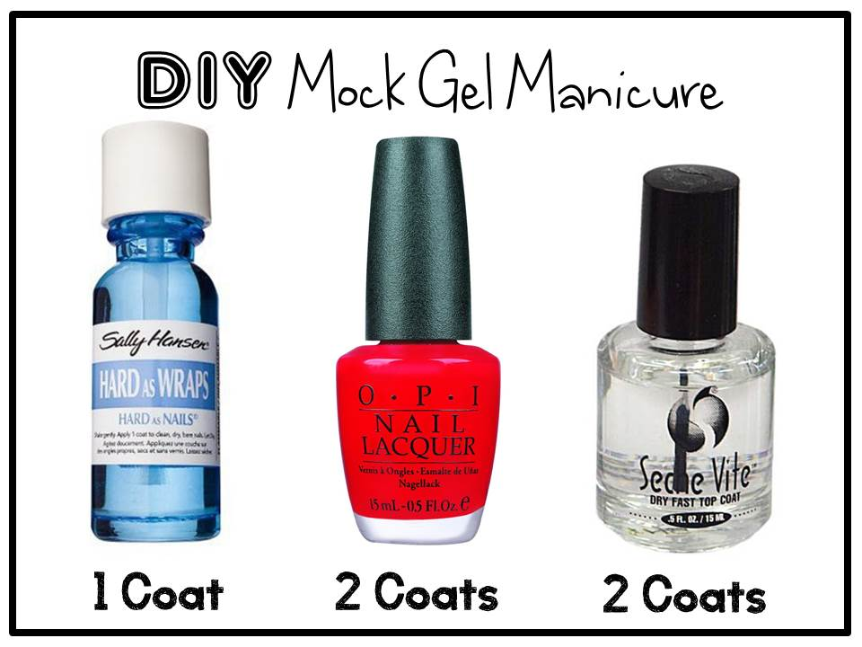 clothesLINE xo: DIY Mock Gel Manicure