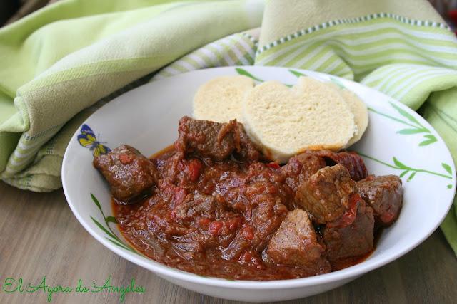 goulash , recetas con cookeo
