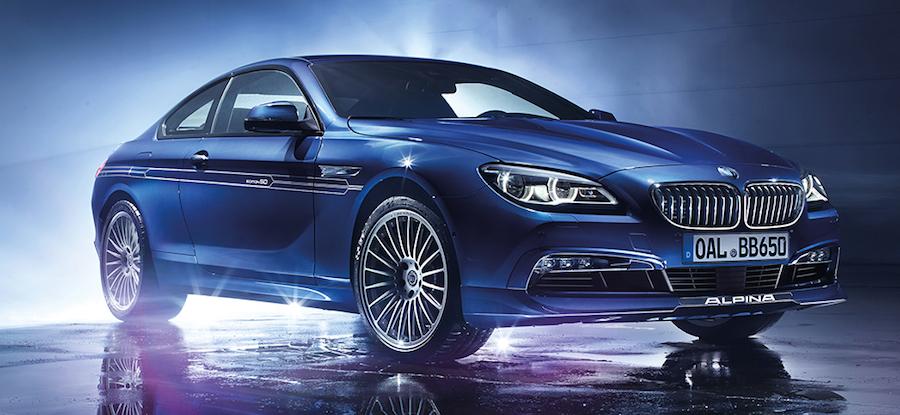 BMWアルピナが創立50周年記念の特別仕様車「EDITION50」を発表 B6