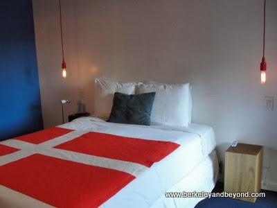 bed in Hamlet Inn in Solvang, CA