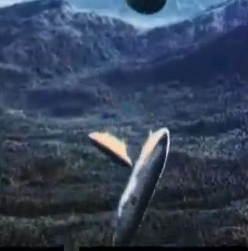 US napalm bomb over vietnam
