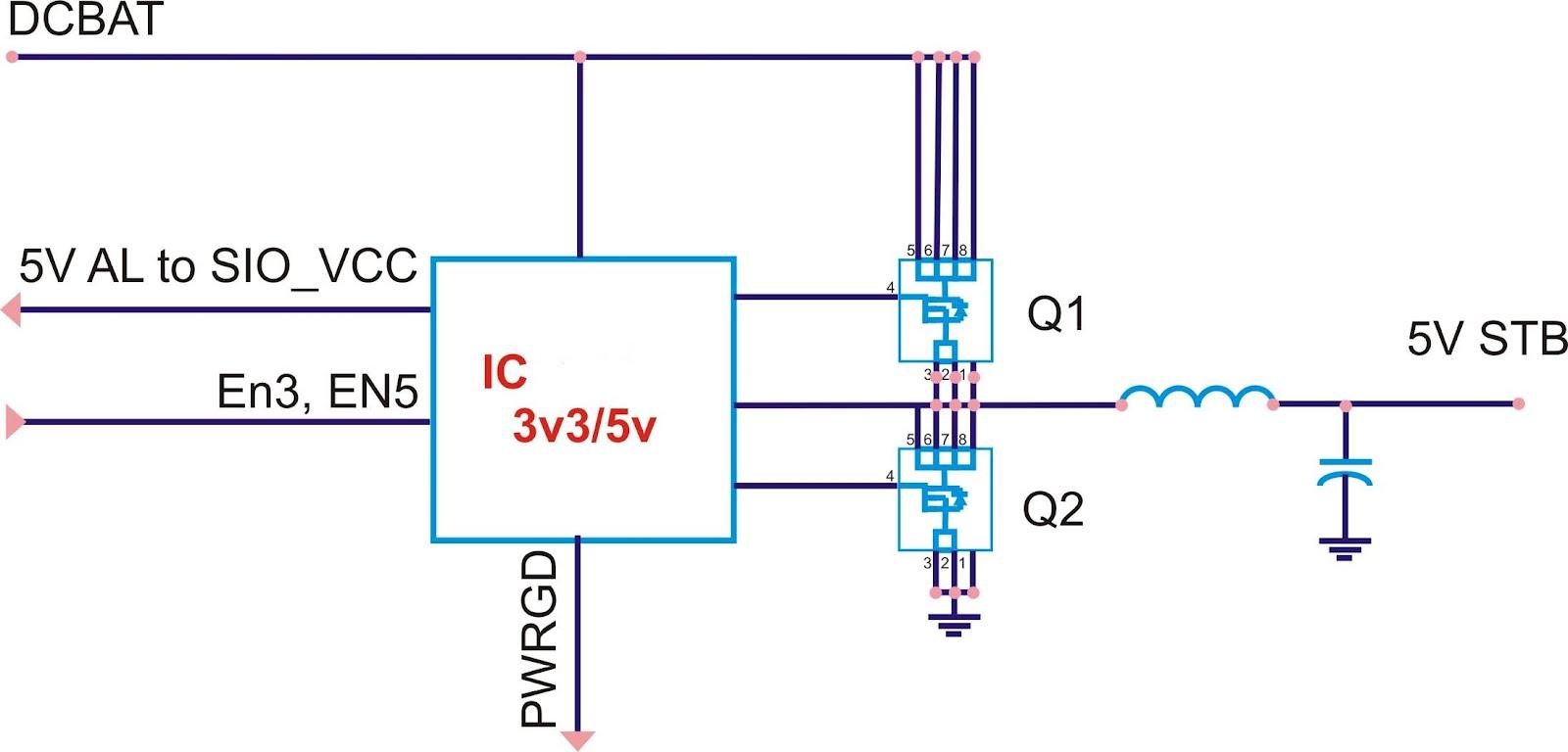 Laptop: circuit create 3v3 and 5v power supply - LAPTOP,DESKTOP,LCD ...
