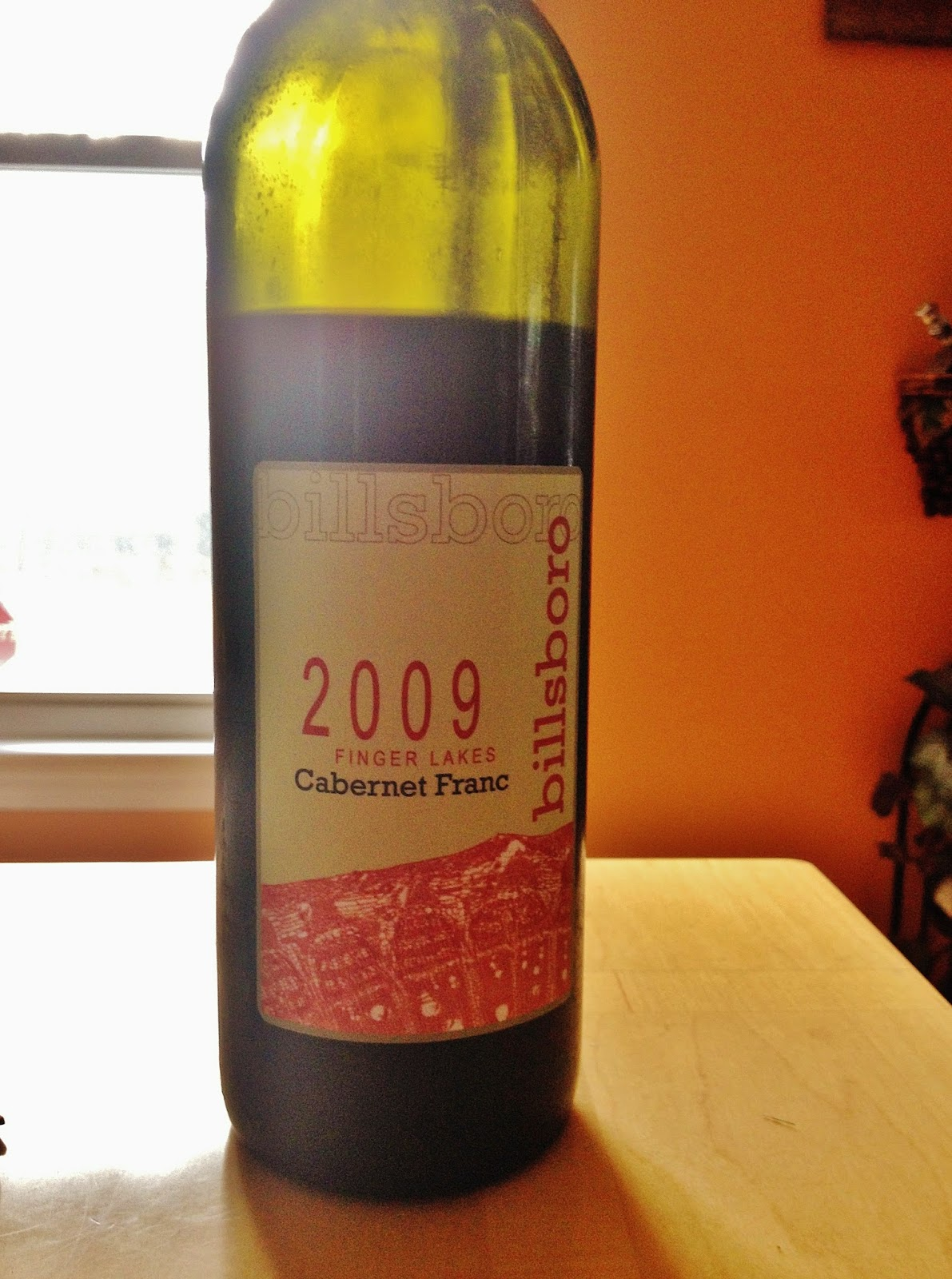 2009 Billsboro winery Cabernet Franc