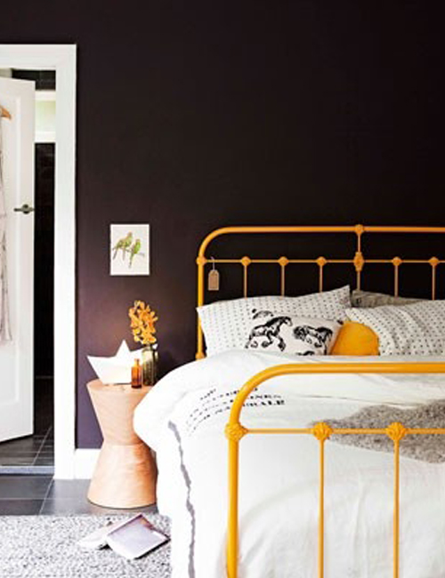 How To Paint A New Metal Bed Frame