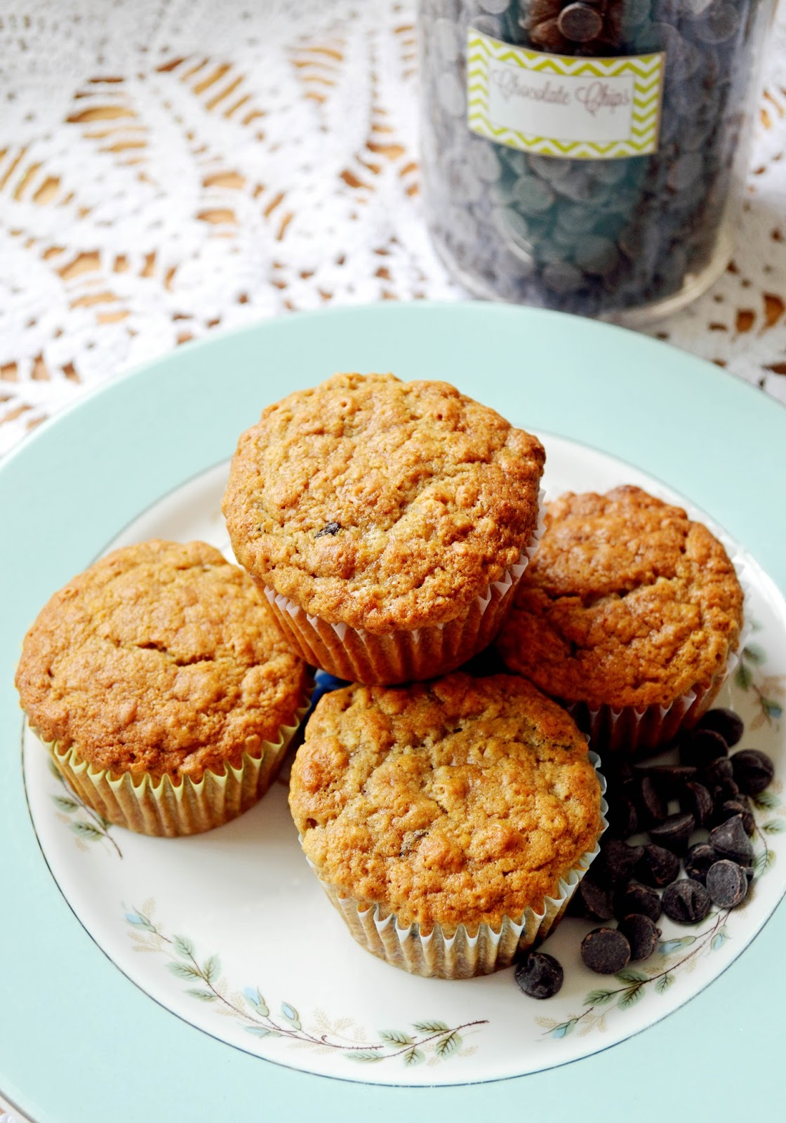... Life:The Art of the Everyday: Spelt Banana Chocolate Coconut Muffins