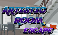 Artistic Room Escape walkthrough.