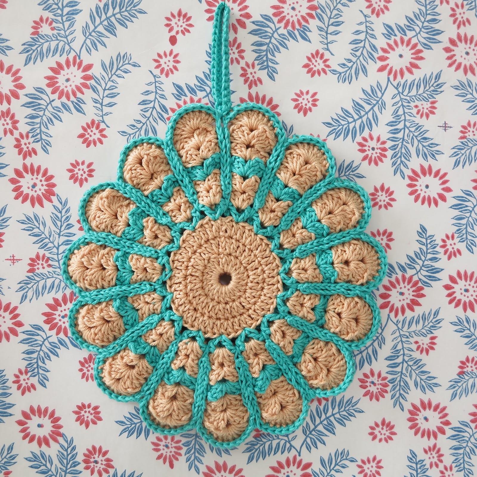 Crochet Potholder Haafner