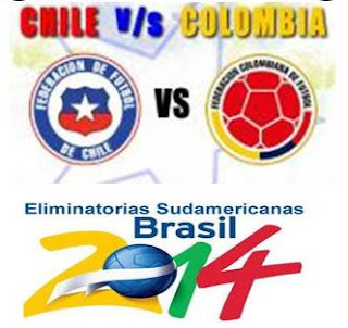 Chile vs Colombia, Mundial Brasil 2014