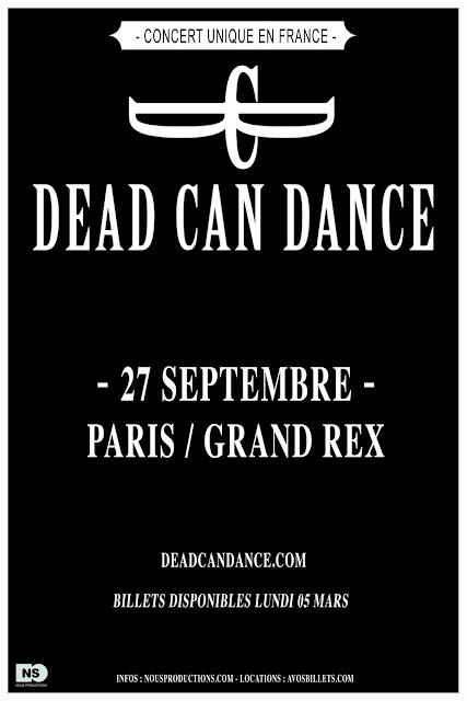 Dead Can Dance @Grand Rex, Paris 27/09/2012