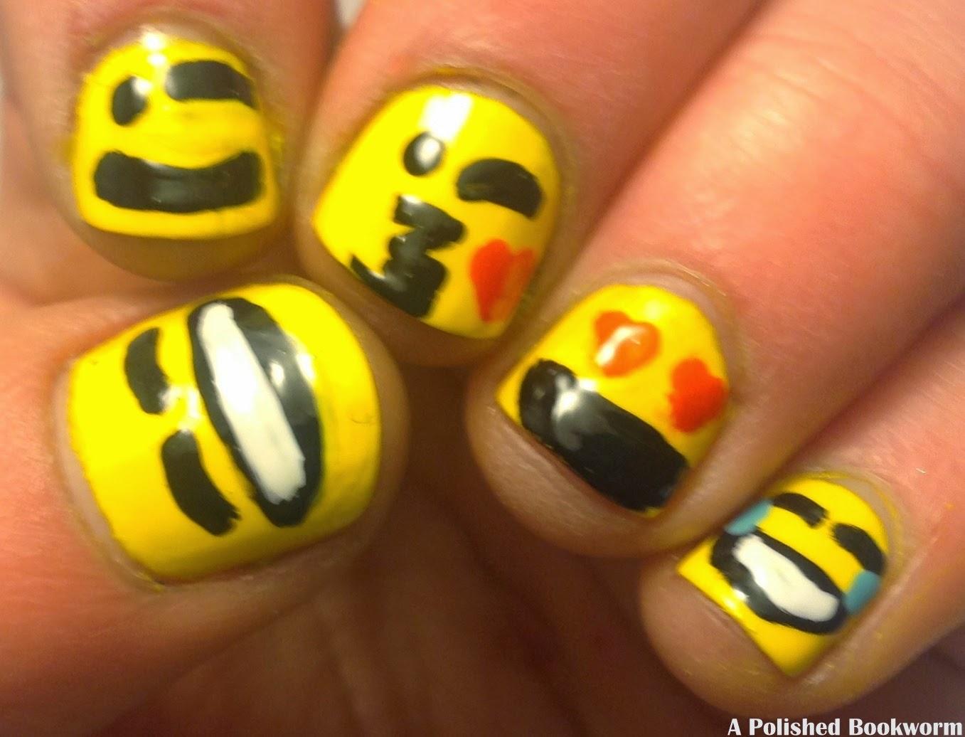 Emoji Nail Art Classics Edition