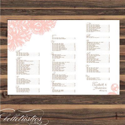 pink peony sweet romantic printable wedding print your own reception seating chart poster design