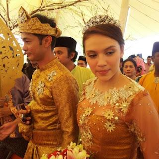 Sekitar Resepsi Perkahwinan Siti Elizad Shamsul Baharin
